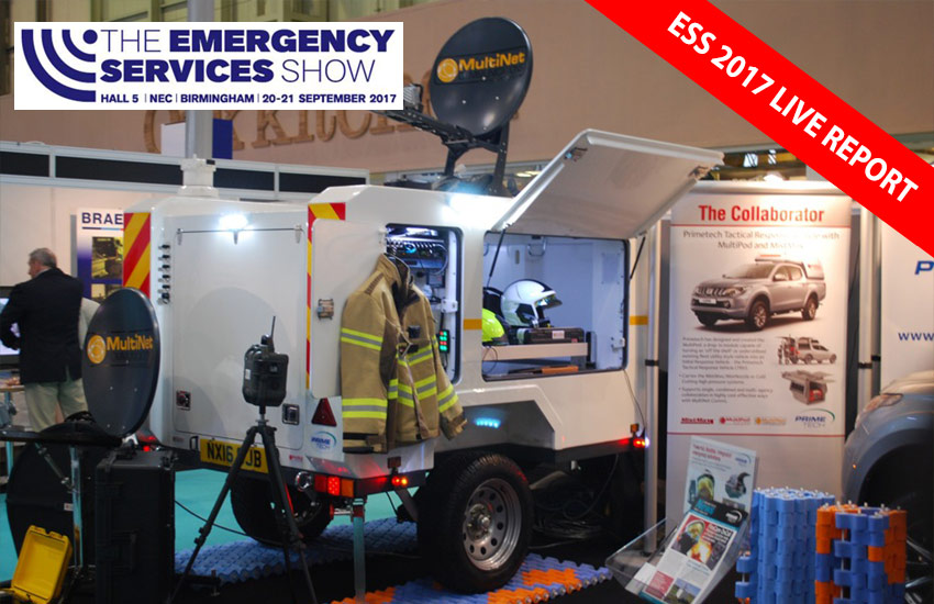Self Contained Comms Trailer Makes Big ESS Impression